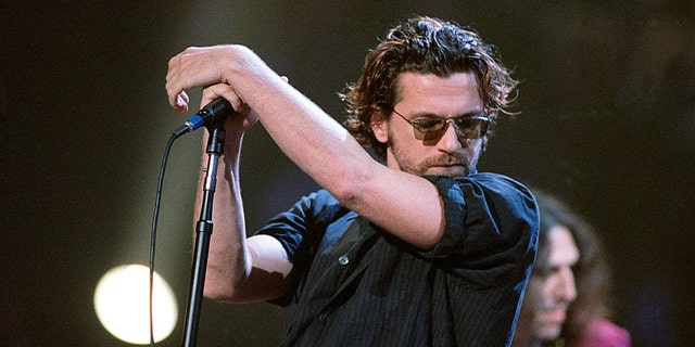 INXS singer/songwriter Michael Hutchence died by suicide in 1997. He was 37. (Photo By Rick Diamond/Getty Images)