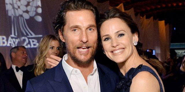 Matthew McConaughey stopped Jennifer Garner from leaving the Dallas Buyers Club.