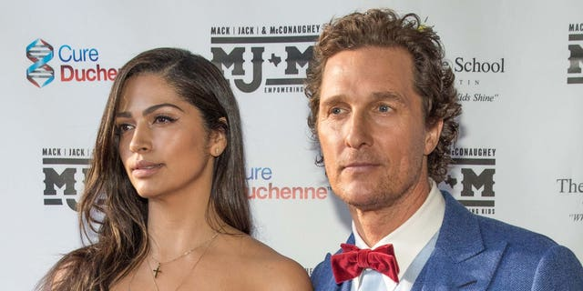 Camila Alves (left) and Matthew McConaughey (right). (Photo by Rick Kern/WireImage)
