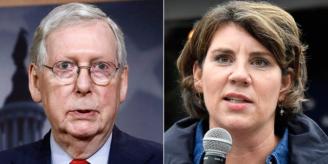 Senate Majority Leader Mitch McConnell, R-Ky., fended off a challenge from well-funded Democrat Amy McGrath.