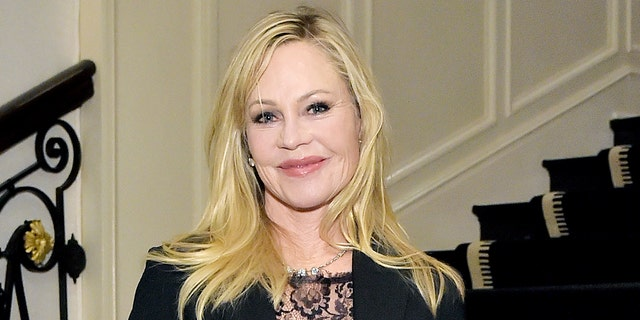 Melanie Griffith stripped down for breast cancer awareness.