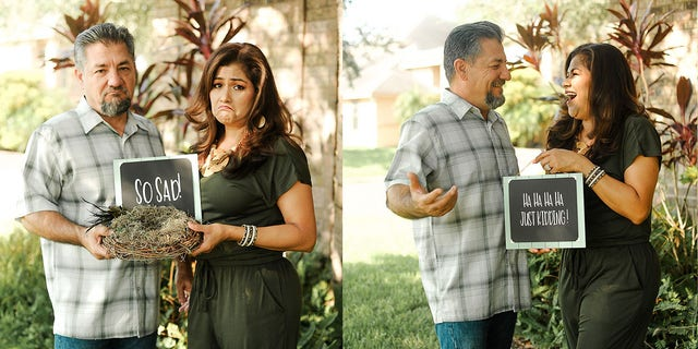 Dalila and Juan Perez officially became empty nesters when their youngest child got married and moved out in August.