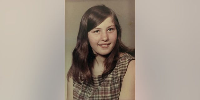 Wanda Ann Her at age 12. She disappeared at 19 and her skull was discovered 10 years later.