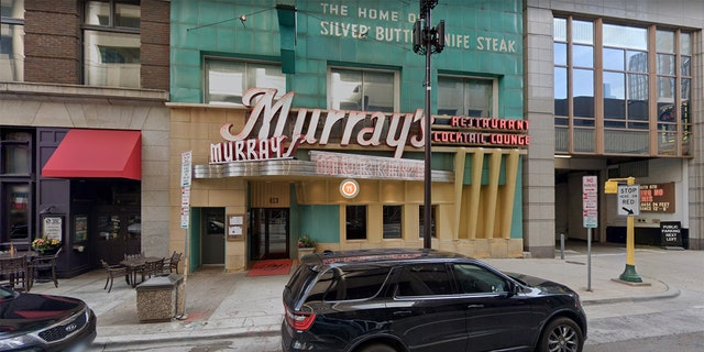 """Murray's Restaurant claims that none of its staffers came into """"close proximity"""" wiht the president during Wednesday's event."""