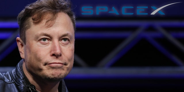 File photo - Elon Musk, Founder and Chief Engineer of SpaceX, attends the Satellite 2020 Conference in Washington, DC, United States on March 9, 2020.