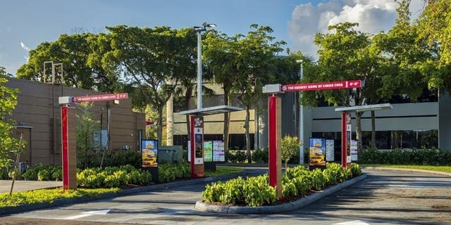 """Restaurant Brands International is planning to """"modernize the drive-thru experience"""" at more than 10,000 Burger King, Tim Hortons and Popeyes locations. (CNW Group/Restaurant Brands International Inc.)"""