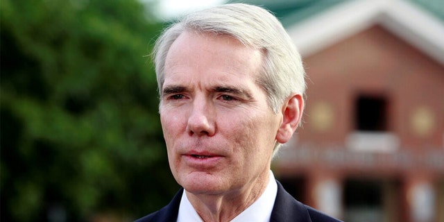 Sen. Rob Portman, R-Ohio in 2017. REUTERS/John Sommers II