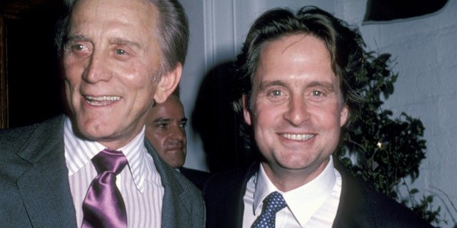 Michael Douglas paid tribute to his late father, Kirk, in his latest Instagram post.