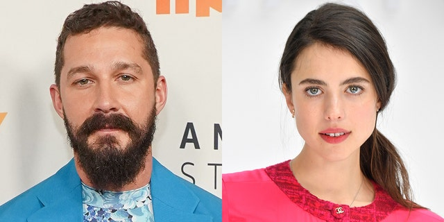 Shia LaBeouf and Margaret Qualley play an on-screen couple in her sister's music video.