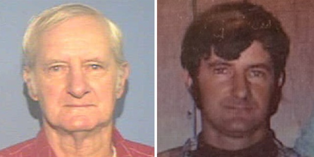 Photos show Richard William Davis in old age and in 1973.
