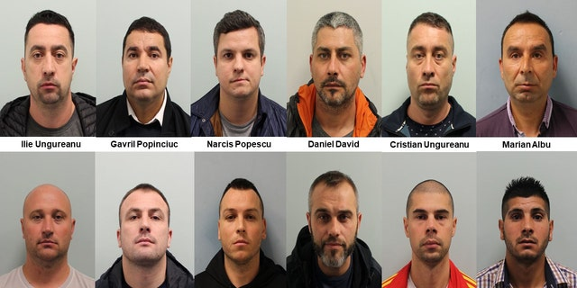 ​Twelve men who formed a sophisticated criminal network in order to commit high value and well-planned burglaries have been jailed
