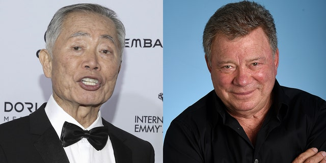 George Takei and William Shatner traded more public jabs.