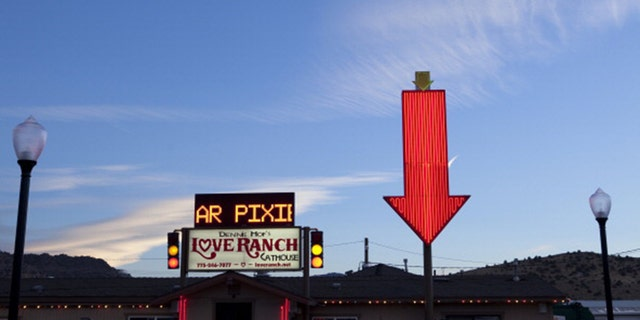 The Love Ranch is one of Nevada's legal brothels closed due to the pandemic. (Gilles Mingasson/Getty Images).