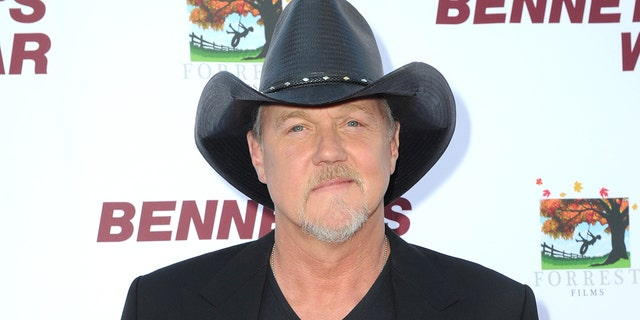 'Celebrity Apprentice' alum Trace Adkins performed the national anthem at the Republican National Convention. (Photo by Joshua Blanchard/Getty Images for Forrest Film)