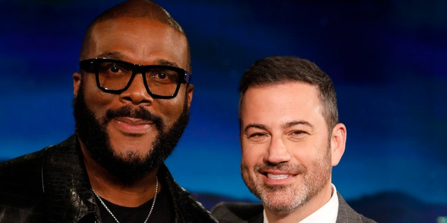 Tyler Perry (left) and Jimmy Kimmel (right) are among the actors to have joined the cast. (Randy Holmes/ABC via Getty Images)