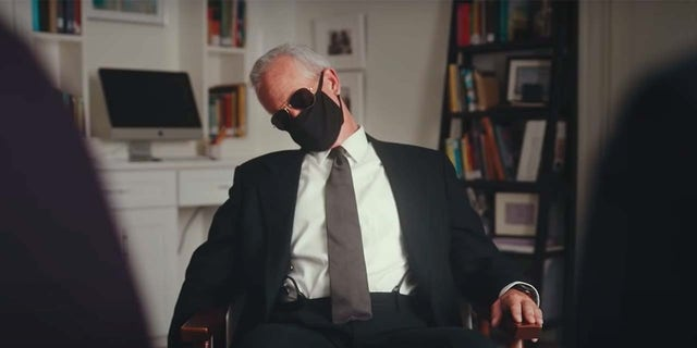 """A still frame from the satirical """"Weekend at Biden's"""" ad released by the No To Joe PAC"""
