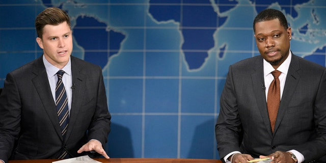 'Saturday Night Live' mocked NBC during its 'Weekend Update' segment.