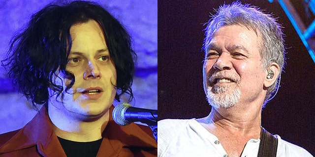 Jack White paid a subtle tribute to the late Eddie Van Halen on 'SNL.'