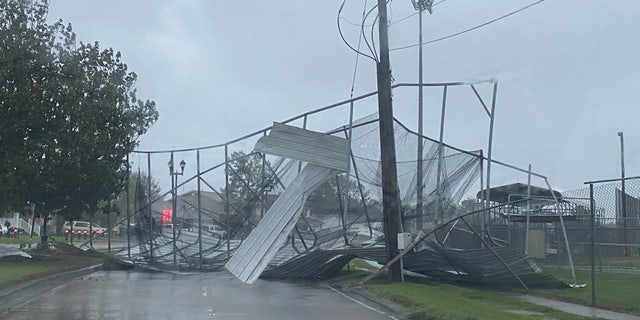Widespread damage has been reported across southeast Louisiana after Hurricane Zeta roared ashore.