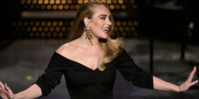 Host Adele during the monologue on the October 24, 2020 episode of 'Saturday Night Live.' She seemingly squashed the rumors about her dating life in a social media post while thanking her fans for tuning into her 'SNL' appearance.
