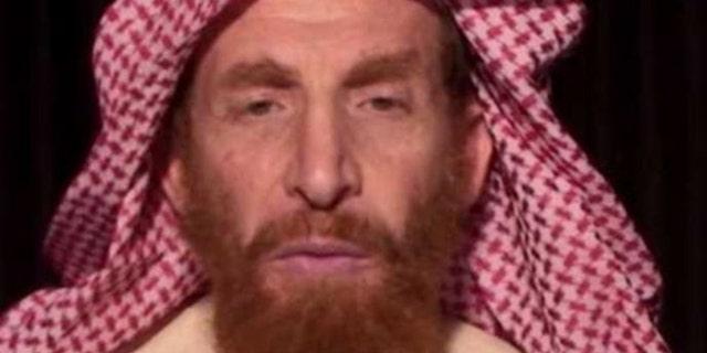This image released by the FBI shows Al Qaeda propagandist Husam Abd al-Rauf, also known by the nom de guerre Abu Muhsin al-Masri.