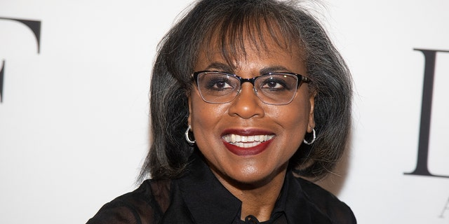 Anita Hill attends the 10th annual DVF Awards in New York on April 11, 2019. A new report released by the Hollywood Commission, which she chairs, revealed that bullying in showbiz runs rampant across the board, especially for women.