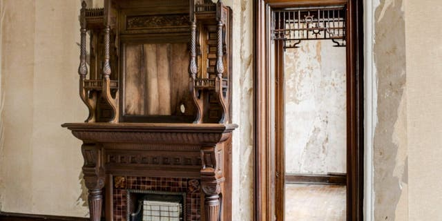 The castle retains many original details like ornate woodworking, lancet windows and stained glass. (Michael DeRosa / Michael DeRosa Exchange, LLC)​