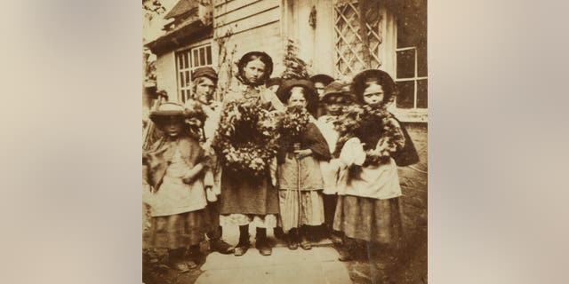 An album of the oldest ever photos of southern England, dating back to 1850, could fetch up to £70,000 at auction. (Credit: SWNS)