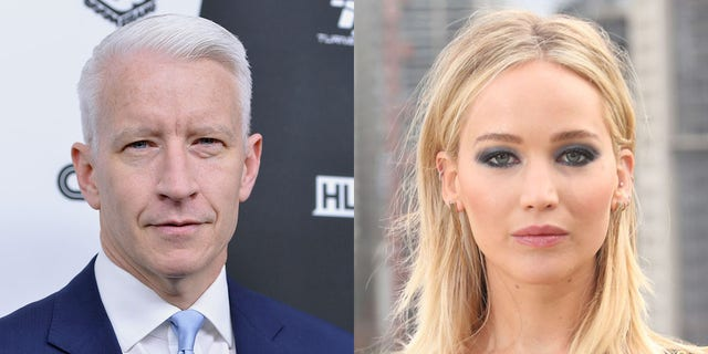 "Jennifer Lawrence said she confronted CNN's Anderson Cooper after he said on his show she ""obviously"" faked her fall up to the Academy Awards stage."