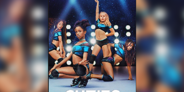 A promotional poster for 'Cuties' that received a firestorm of criticism.