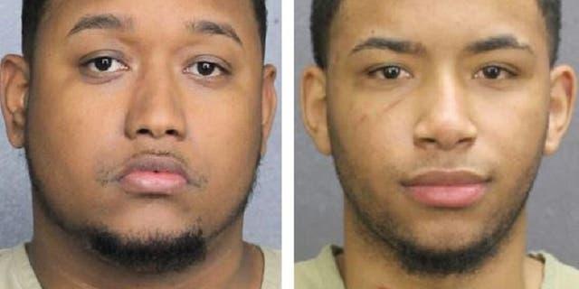 SuspectsJunior Alexander Cabral, 28, and Vladimir Cabral Cuevas, 20.