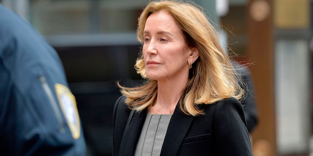 Actress Felicity Huffman has landed her first acting role since the fallout stemming from the college admissions scandal. (JOSEPH PREZIOSO/AFP via Getty Images)