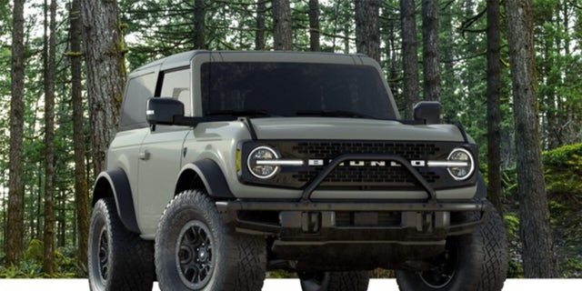 Ford will only build 7,000 Bronco First Edition models.