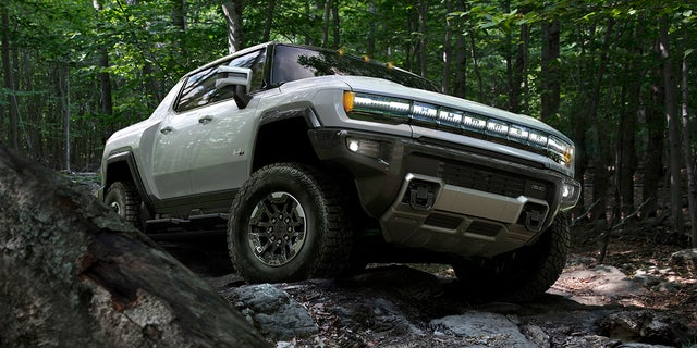 The GMC Hummer EV is an off-road pickup.