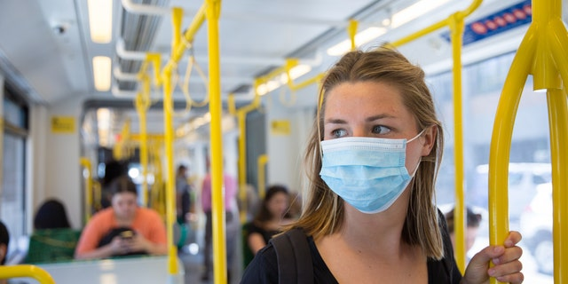 """""""Traveling on public conveyances increases a person's risk of getting and spreading COVID-19 by bringing persons in close contact with others, often for prolonged periods, and exposing them to frequently touched surfaces,"""" the public health institute explained."""