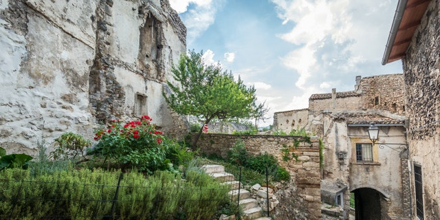 The Italian village of Santo Stefano di Sessanio is offering to pay up to $52,022 to attract younger residents to the Abruzzo region of southern Italy. (iStock)