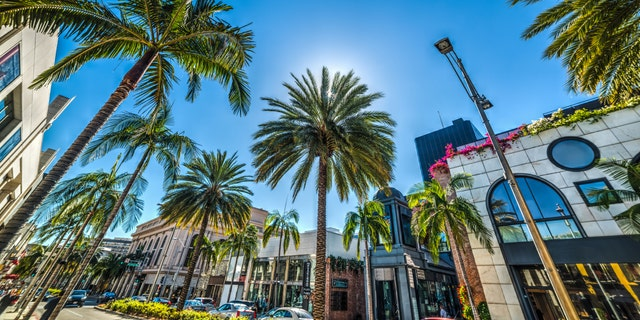 Beverly Hills' Rodeo Drive will close on Election Day and the following day. (iStock).