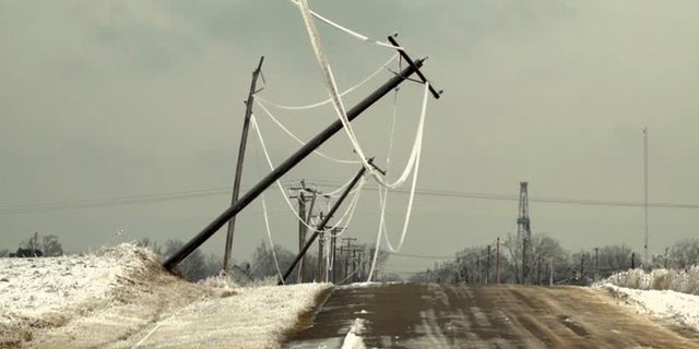 An ice storm has left over 300,000 customers without power in Oklahoma.