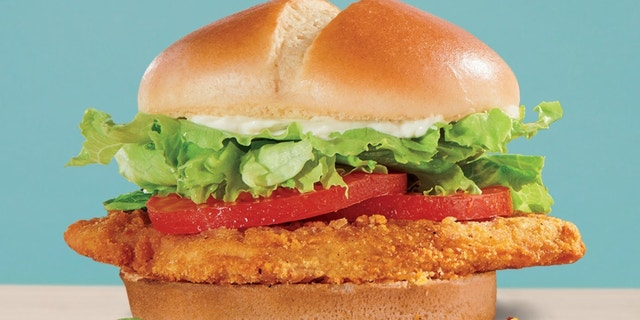 """Jack in the Box debuted a pair of new """"Unchicken"""" sandwiches at some locations. (Jack in the Box)"""