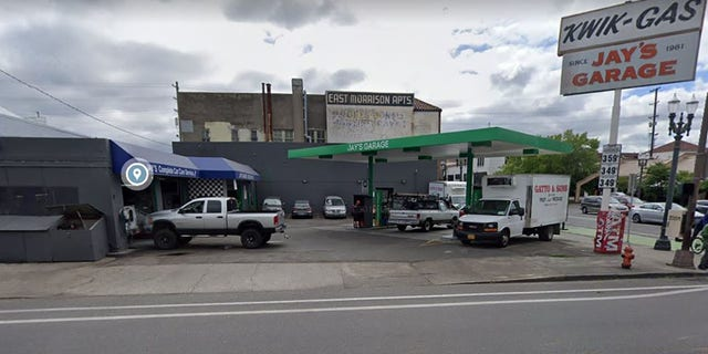 DeWeese said in the lawsuit that an attendant at Jay's Garage in Portland refused to sell him gas.