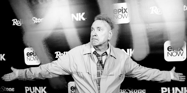 "John Lydon at the premiere of Epix's ""Punk"" on March 04, 2019 在洛杉矶. (Emma McIntyre/Getty Images)"
