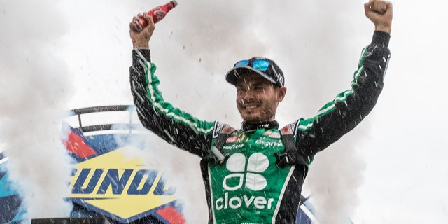 Larson has won six races in the NASCAR Cup Series, his last coming at the 2019 Drydene 400 at Dover International Speedway in Oct. 2019.