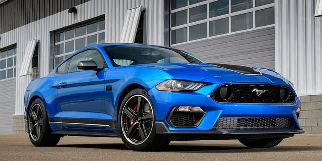 The Mustang Mach 1 is Ford's latest V8-powered Mustang
