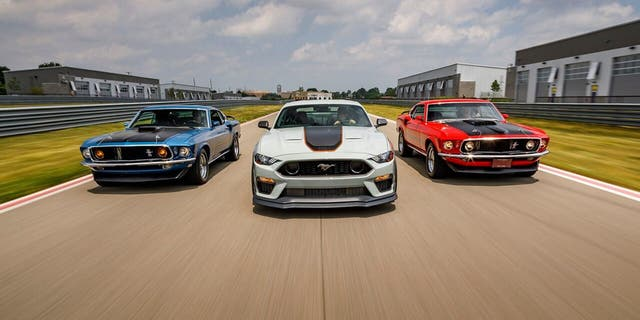 Ford Mustang Mach 1 Also Replaces Mustang GT Performance Package 2