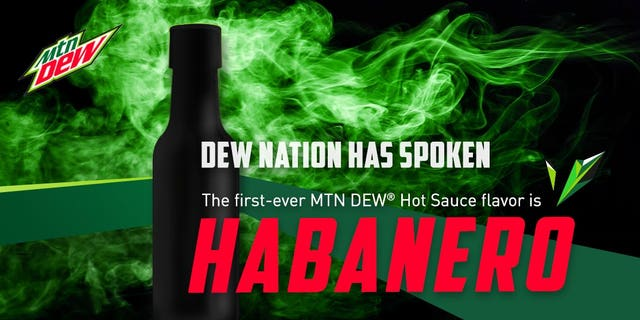 Mountain Dew has teamed up with NBA player Joel Embiid and hot sauce company iBurn to create its latest fan-picked spicy flavor.
