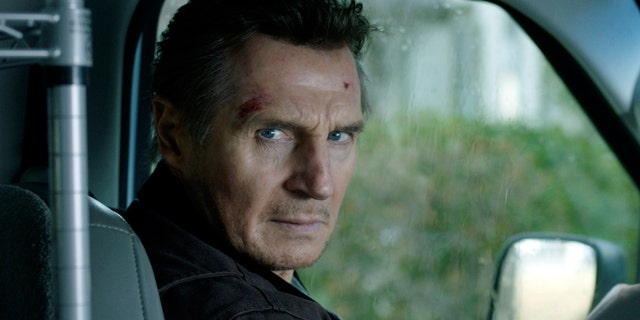 Liam Neeson in a scene from 'Honest Thief.'