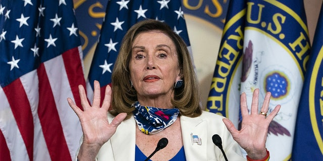House Speaker Nancy Pelosi, D-Calif., said the 2002 Iraq War authorization is outdated and must be repealed.