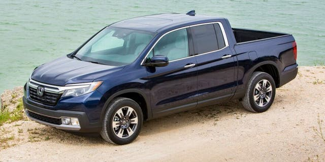 The 2020 Ridgeline features a softer, more car-like look.