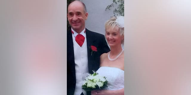 The couple had been married for 13 years before the second wedding.