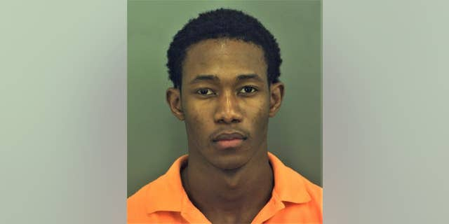 Richard Mustapha Sennessie, 23, was arrested on suspicion of murder, authorities said.  (El Paso Police)